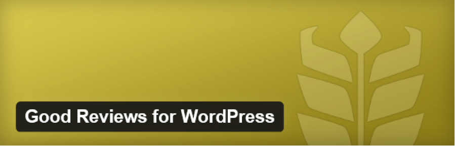 Good Reviews WordPress plugin
