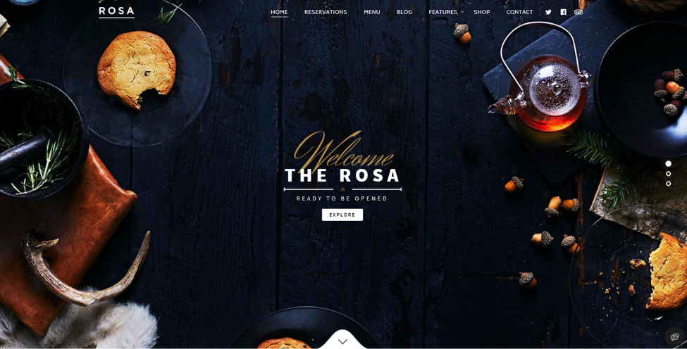 The Rosa WordPress Theme