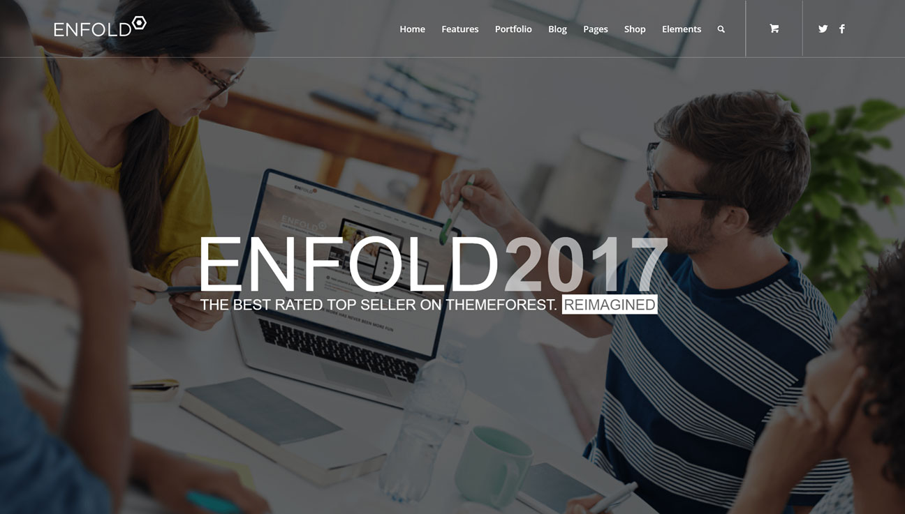 Enfold 2017 Homepage Demo