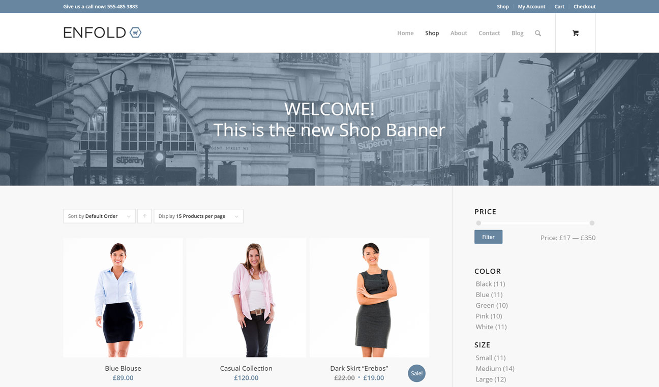 Ecommerce Products Display