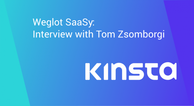 Weglot SaaS interview Kinsta