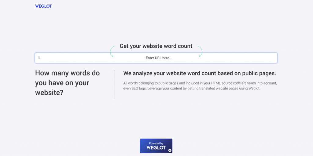 Our New Word Count Tool for Your Website | Weglot blog